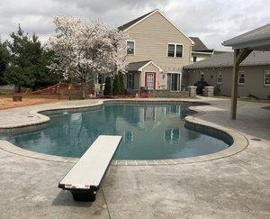 Concrete Pools Construction, Lancaster PA