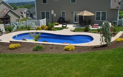 Concrete Pool Construction Fiberglass Commercial